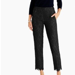 J. Crew lace easy pant